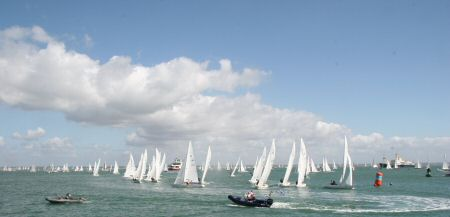 Racing at Cowes