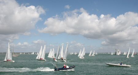 Etchells in the Solent