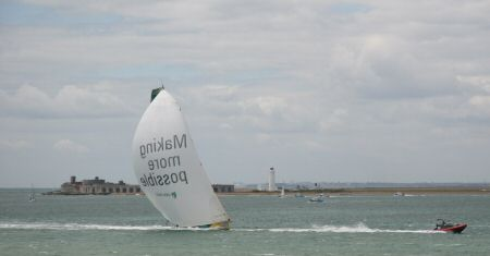 ABN AMRO - with support boat