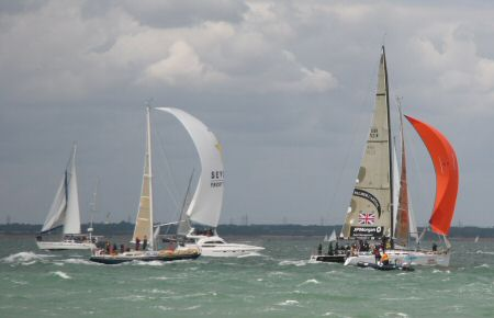 A breezy Cowes Week - 2006