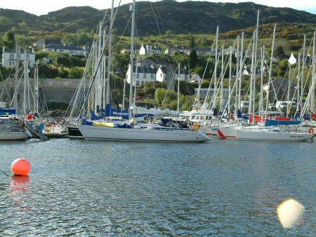 Across the harbour at Tarbert